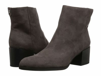 Circus By Sam Edelman - Circus By Sam Edelman Women Steel Gray Microsuede Jennifer Ankle Bootsbooties