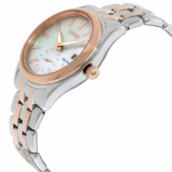 Citizen Corso Mother of Pearl Dial Stainless Steel Ladies Watch EV1036-51Y - Thumbnail