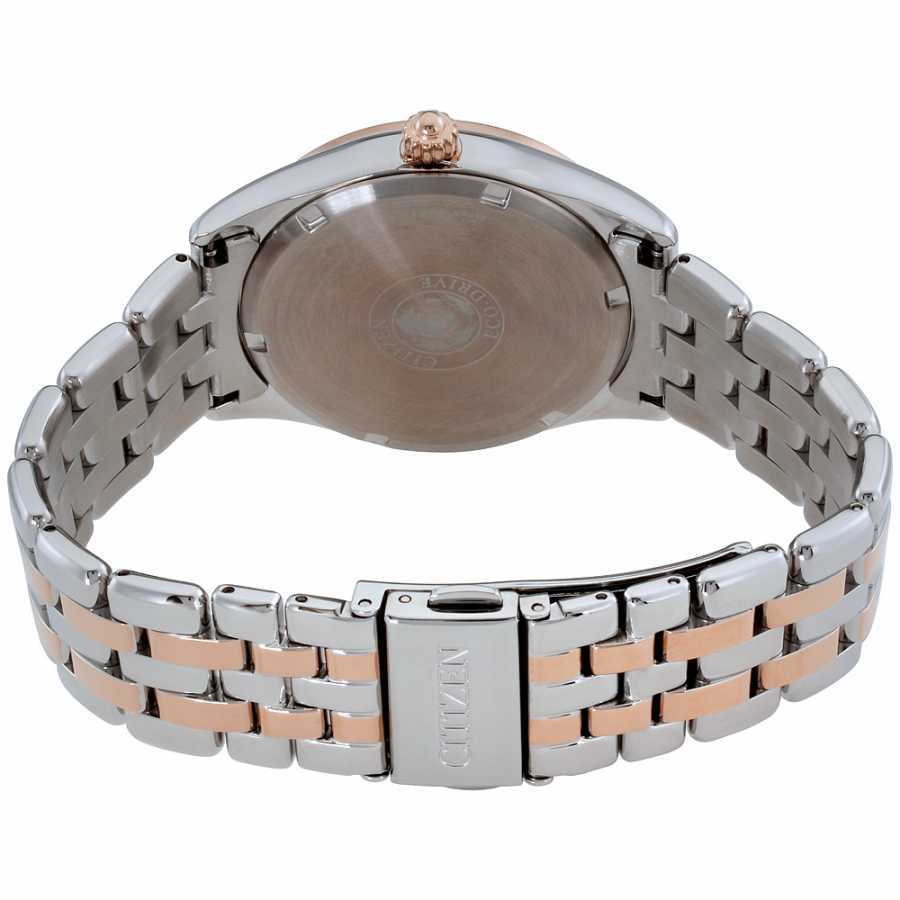 Citizen Corso Mother of Pearl Dial Stainless Steel Ladies Watch EV1036-51Y