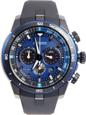 Citizen - Citizen Ecosphere Eco-Drive Blue Dial Polyurethane Strap Men's Watch CA415512L