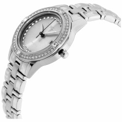 Citizen Silhouette Crystal Grey Dial Stainless Steel Ladies Watch FE1150-58H - Thumbnail