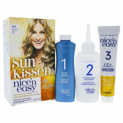 Clairol - Clairol Nice n Easy Permanent Color - 9-5A Light Cool Breezy Blonde 1 Application
