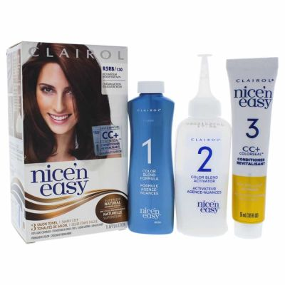 Clairol - Clairol Nice n Easy Permanent Color - R5RB 130 Rich Medium Reddish Brown 1 Application