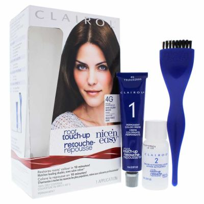Clairol - Clairol Nice n Easy Root Touch-Up Permanent Color - 4G Dark Golden Brown 1 Application