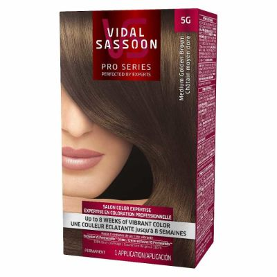 Clairol - Clairol Ultra Vibrant Permanent Color - 5G Medium Golden Brown 1 Application