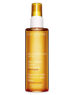 Clarins - Clarins Sunscreen Care Oil-Free Lotion Spray SPF 15 5 oz
