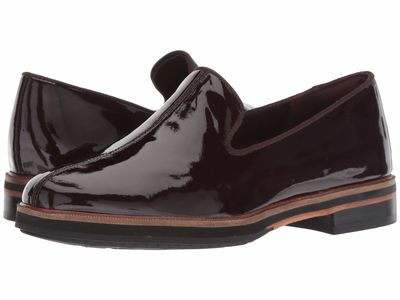 Clarks - Clarks Women Aubergine Patent Leather Frida Loafer Loafers