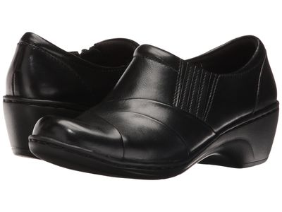 Clarks - Clarks Women Black Leather Channing Essa Loafers