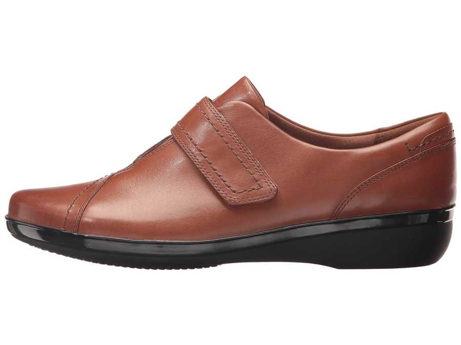 Clarks Women Brown Everlay Dixey Loafers
