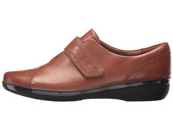 Clarks Women Brown Everlay Dixey Loafers - Thumbnail