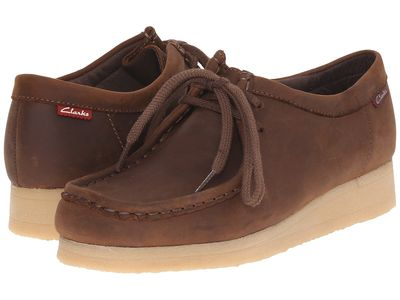 Clarks Women Brown Smooth Padmora Oxfords