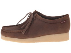 Clarks Women Brown Smooth Padmora Oxfords - Thumbnail