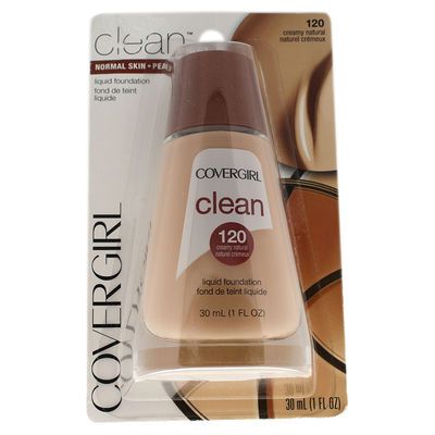 CoverGirl - Clean Liquid Foundation - # 120 Creamy Natural 1oz