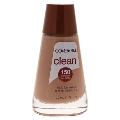 CoverGirl - Clean Liquid Foundation - # 150 Creamy Beige 1oz
