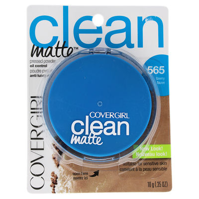 CoverGirl - Clean Matte Pressed Powder - # 565 Tawny 0,35oz