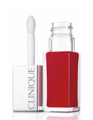 Clinique - Clinique Clinique Pop Lacquer Lip Colour + Primer 02 Lava Pop 0.2 oz