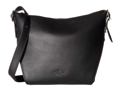 Coach - Coach Dk/Black Dufflette İn Natural Calf Leather Shoulder Bag