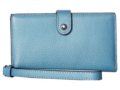 Coach - Coach Dk/Chambray Phone Wristlet Clutch Bag