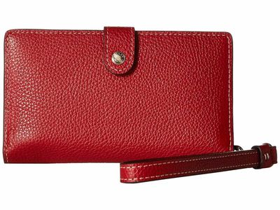 Coach - Coach Li/1941 Red Boxed Phone Wristlet Phone Wallet