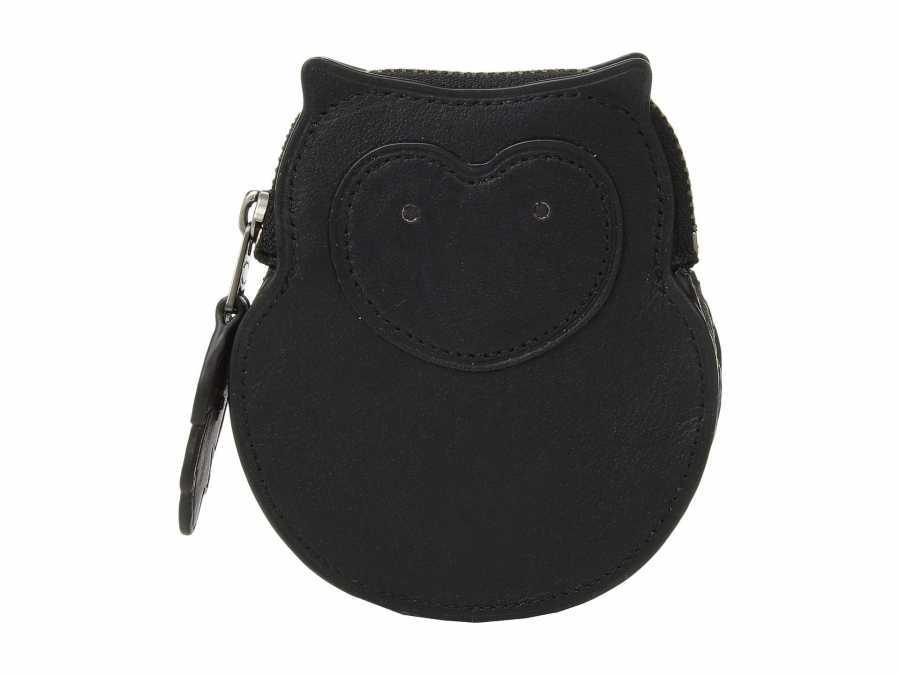 COACH V5/Black Owl Coin Case Coin Card Case