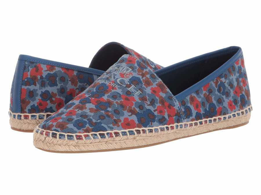 Coach Women Dusk Multi Mila Flats