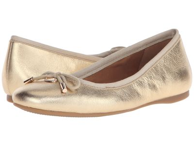 Coach - Coach Women Gold Lara Flats