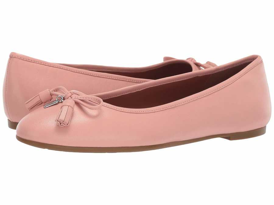 Coach Women Petal Bea Leather Flat Flats