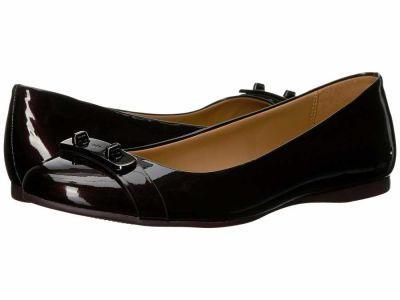 Coach - COACH Women′s Oxblood Pearl Iridescent Pearl Patent Oswald Flats