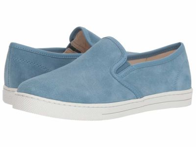 Coach - COACH Women's Chambray Suede C117 Slip-On Sneaker Lifestyle Sneakers