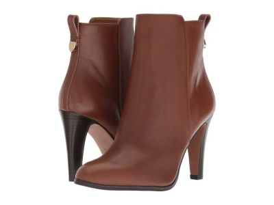 Coach - COACH Women's Dark Saddle Leather Jemma Ankle Boots Booties 9053322371147