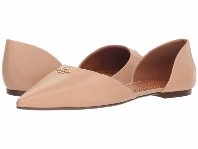 Coach - COACH Womens's Beechwood Leather Pointy Toe Flat Flats