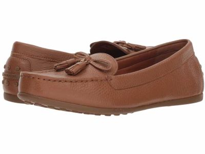 Coach - COACH Women's Saddle Leather Greenwich Driver w/ Tassel Loafers