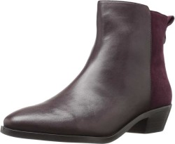 COACH Women's Warm Oxblood/Warm Oxblood Semi Matte Calf/Suede Carmen Ankle Boots Booties 8861223680800 - Thumbnail