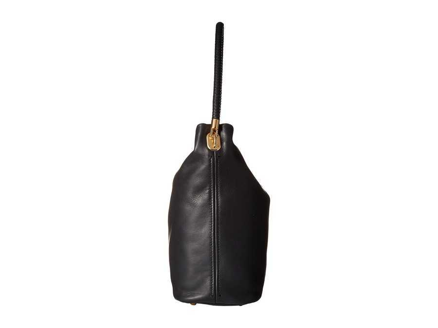 Cole Haan Black Benson İi Bucket Hobo Hobo Handbag