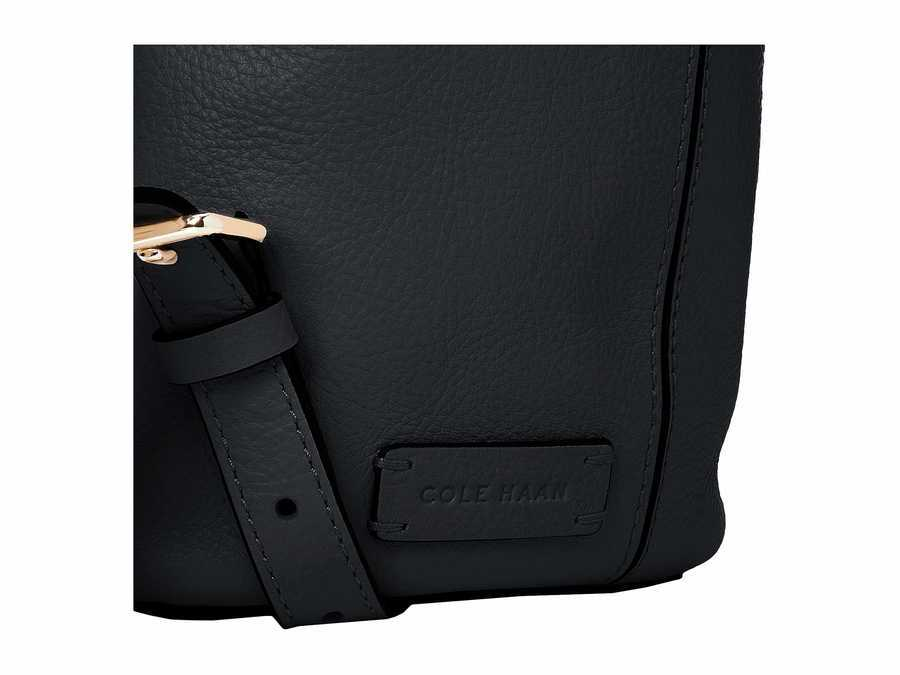 Cole Haan Black Payson Backpack
