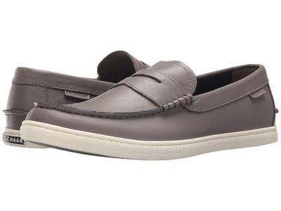 Cole Haan - Cole Haan Men Stormcloud Leather Nantucket Loafer Loafers