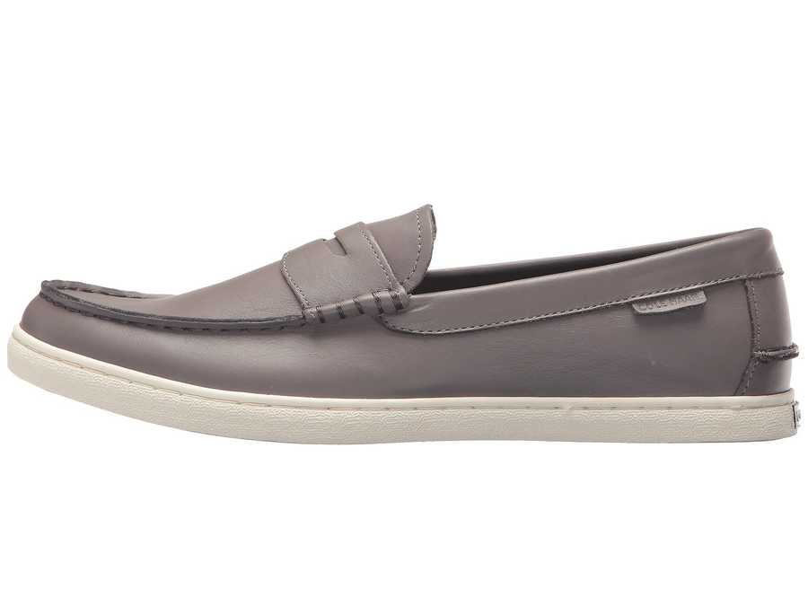 Cole Haan Men Stormcloud Leather Nantucket Loafer Loafers