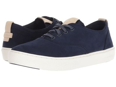 Cole Haan - Cole Haan Women Marine Blue Nubuck/Optic White Grandpro Deck Cvo Lifestyle Sneakers