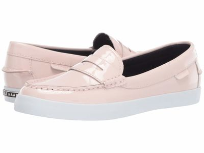 Cole Haan - Cole Haan Women Pink Dogwood Patent Nantucket Loafer Loafers