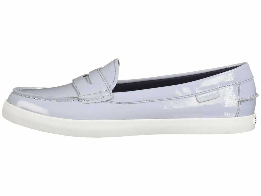 Cole Haan Women Zen Blue Patent Nantucket Loafer Loafers