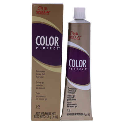 Color Perfect Permanent Creme Gel Haircolor - 5BR Light Brown Red 2oz