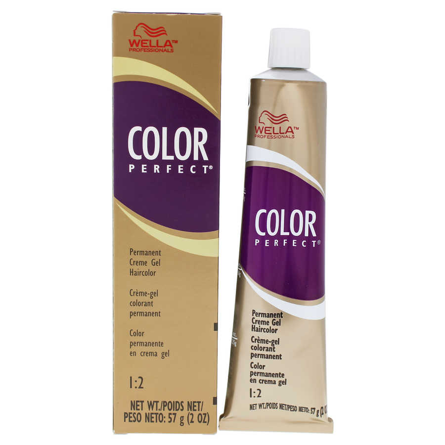 Color Perfect Permanent Creme Gel Haircolor - 8RG Light Red Golden Blonde 2oz