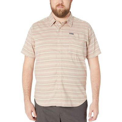 Columbia - Columbia Ancient Fossil Woven Big & Tall Shoals Point™ Short Sleeve Shirt