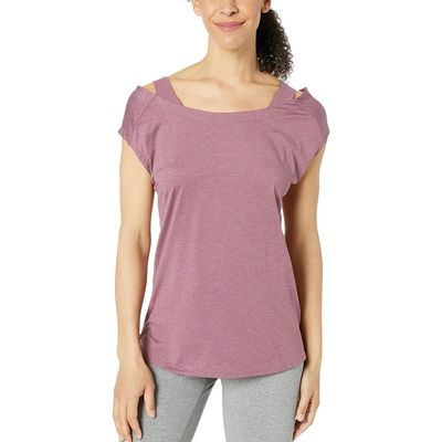 Columbia - Columbia Antique Mauve Heather Place To Place™ Short Sleeve Shirt