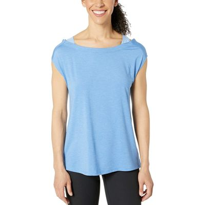 Columbia - Columbia Arctic Blue Heather Place To Place™ Short Sleeve Shirt