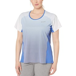 Columbia Arctic Blue Plus Size Solar Chill™ 2.0 Short Sleeve Shirt - Thumbnail