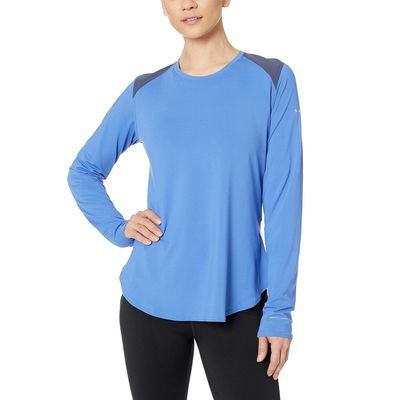 Columbia - Columbia Arctic Blue/Nocturnal Saturday Trail™ Knit Long Sleeve Shirt