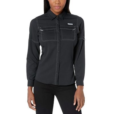 Columbia - Columbia Black Lo Drag™ Long Sleeve Shirt
