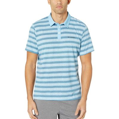 Columbia - Columbia Blue Sky Multi Stripe Thistletown Park™ Polo