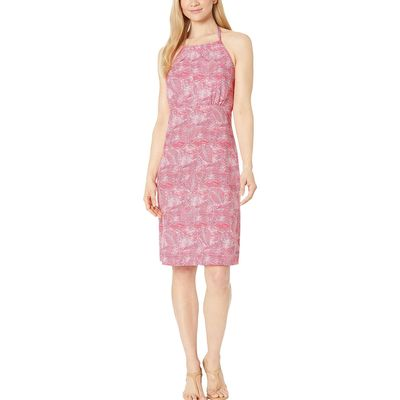 Columbia Bright Geranium Wave Leaves Armadale™ Iı Halter Top Dress